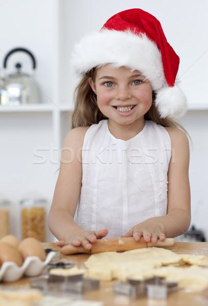 Stockfoto: Familie · christmas · gebak · keuken · gelukkig · gezin