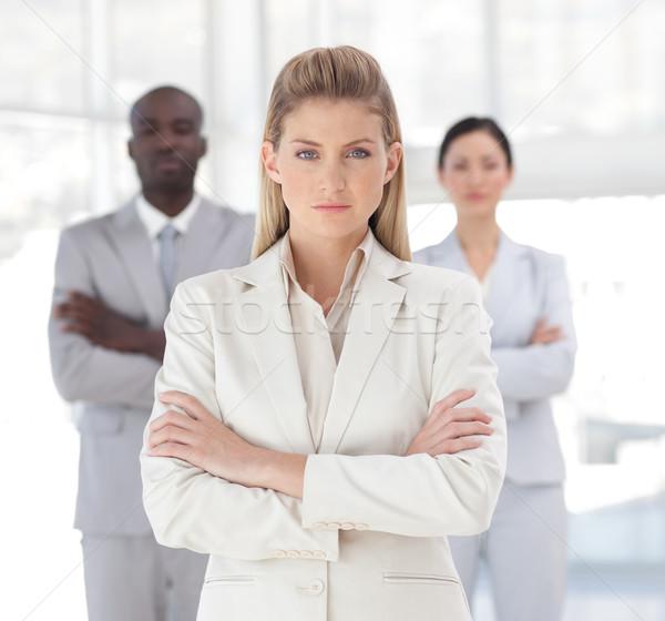 Squadra di affari spirito positività business Foto d'archivio © wavebreak_media