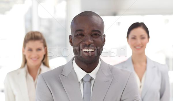 Kierownik zespołu biuro kobieta uśmiech Zdjęcia stock © wavebreak_media