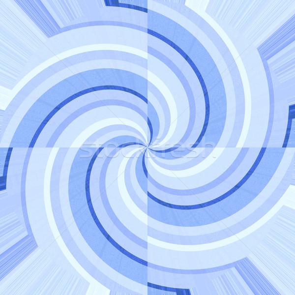Mavi beyaz soyut arka plan model Stok fotoğraf © wavebreak_media