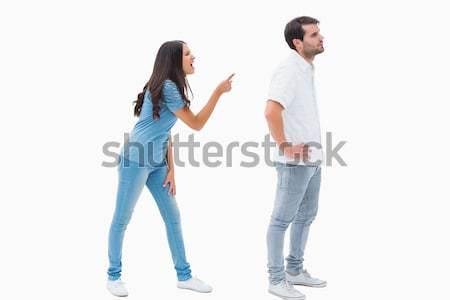 расстраивать пару не говорить другой борьбе Сток-фото © wavebreak_media