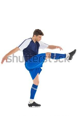 Azul branco esportes futebol Foto stock © wavebreak_media