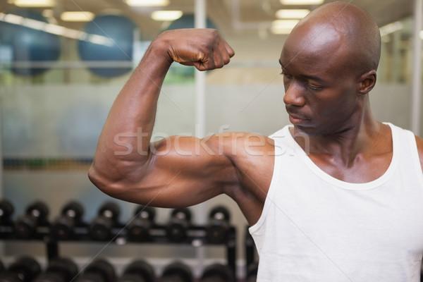 мышечный человека мышцы спортзал здоровья Сток-фото © wavebreak_media