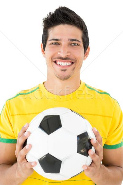 Retrato sonriendo guapo futbolista blanco feliz Foto stock © wavebreak_media
