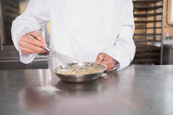 Close up of baker preparing a pastry Stock photo © wavebreak_media