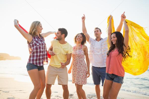 group of friends having fun Stock photo © wavebreak_media