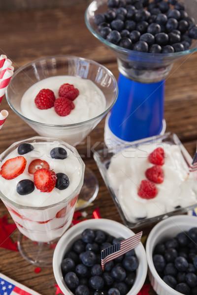 果物 アイスクリーム フルーツ 表 フラグ ストックフォト © wavebreak_media