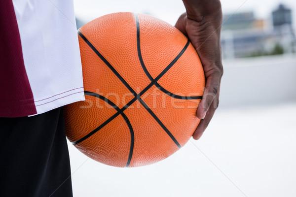 Jogador basquetebol esportes bola Foto stock © wavebreak_media