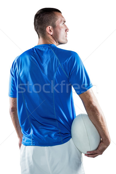 регби игрок мяча серьезный Сток-фото © wavebreak_media