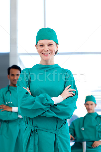 A group of doctors wearing surgical gown Stock photo © wavebreak_media