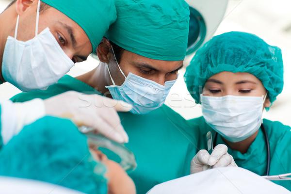 Sério cirurgiões cirurgia hospital homem médico Foto stock © wavebreak_media