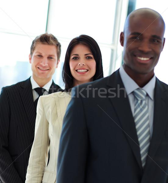 улыбаясь деловая женщина Focus команда молодые Сток-фото © wavebreak_media