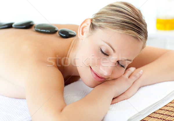 Cute woman having a massage  Stock photo © wavebreak_media