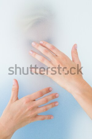 Doctor manipulating the foot of his patient in a room Stock photo © wavebreak_media