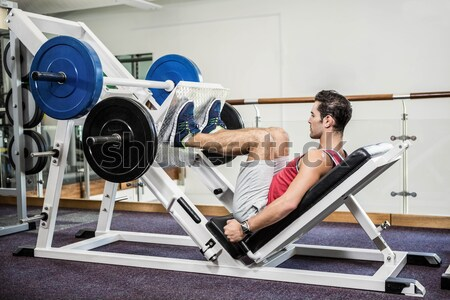 Mujer toma romper remo fitness estudio Foto stock © wavebreak_media