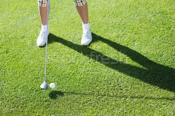 Dama golfista día campo de golf Foto stock © wavebreak_media