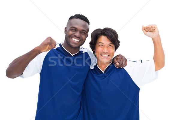 Football players celebrating a win Stock photo © wavebreak_media