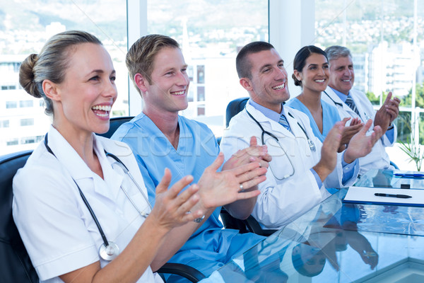 Team of doctors applauding Stock photo © wavebreak_media