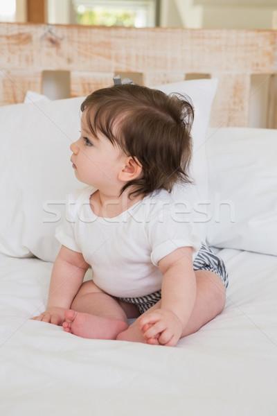 Very beautufil cute baby girl Stock photo © wavebreak_media