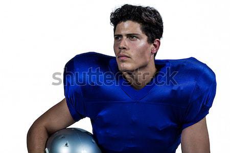 Muscular rugby jogador retrato esportes Foto stock © wavebreak_media