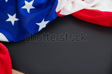 American flag on slate Stock photo © wavebreak_media