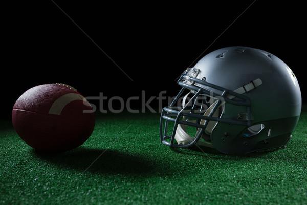 Americano fútbol cabeza artes artificial Foto stock © wavebreak_media