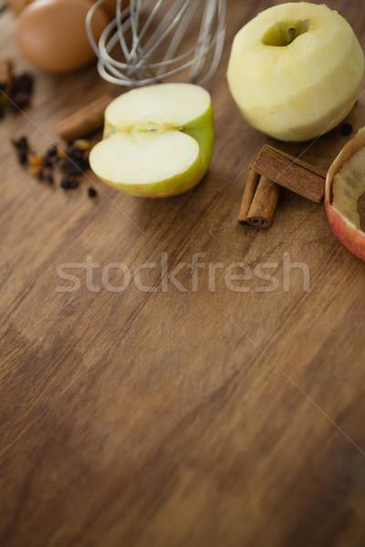 Granny smith apple with spices Stock photo © wavebreak_media