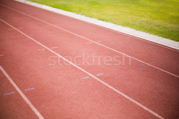 Empty running track Stock photo © wavebreak_media