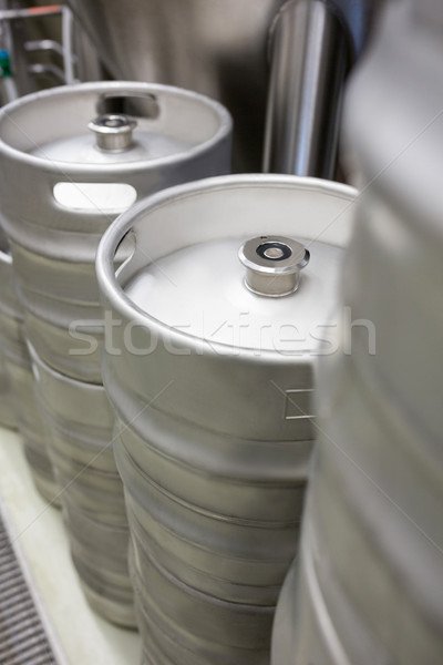 Close-up of keg Stock photo © wavebreak_media