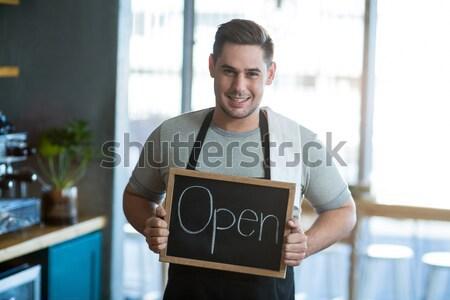 человека совета портрет улыбаясь Сток-фото © wavebreak_media
