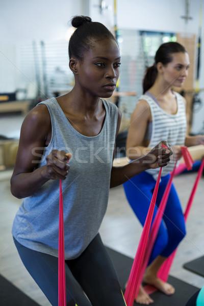 соответствовать женщины осуществлять сопротивление Сток-фото © wavebreak_media