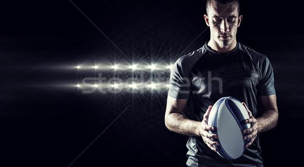 Imagen rugby jugador Foto stock © wavebreak_media