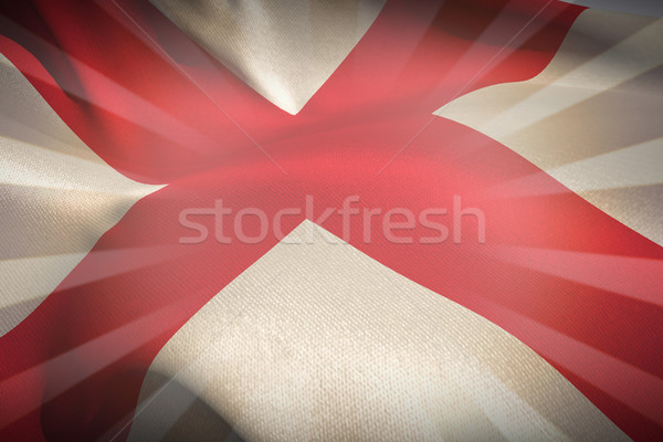 Imagen Inglaterra bandera blanco lineal Foto stock © wavebreak_media