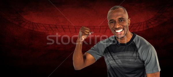 画像 肖像 スポーツマン 成功 ストックフォト © wavebreak_media