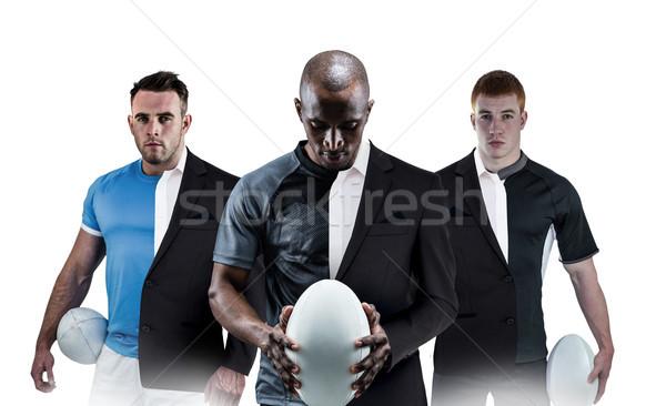 изображение регби игрок мяч для регби Сток-фото © wavebreak_media