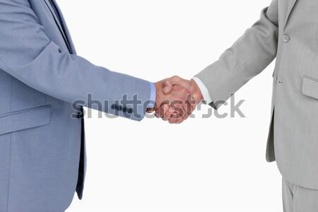 Geschäftsleute Schließen viel weiß Frau Stock foto © wavebreak_media