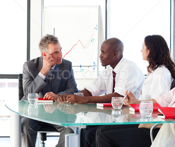 Business people interacting in office Stock photo © wavebreak_media