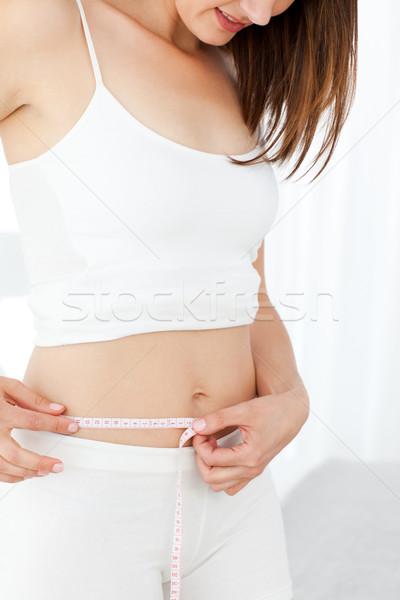 Kobieta patrząc dziewczyna kobiet siłowni Zdjęcia stock © wavebreak_media