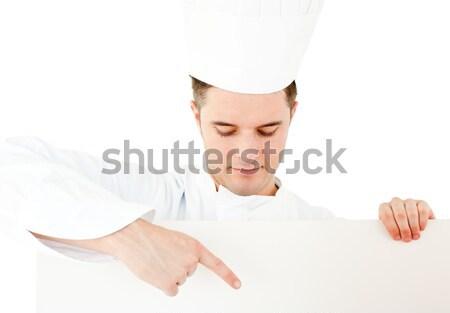 女性 腕 下向き 白 幸せ ストックフォト © wavebreak_media