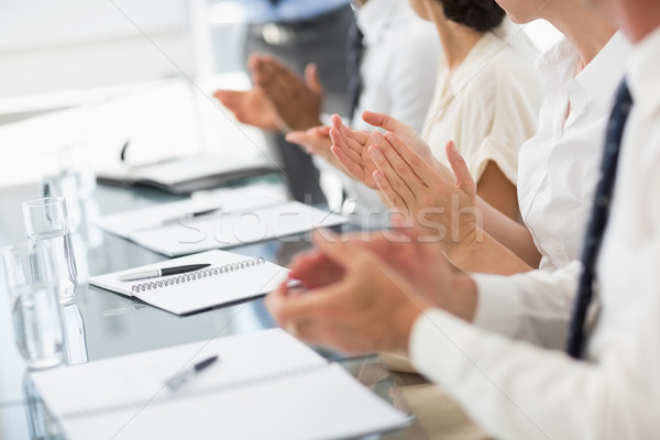Business people clapping at a meeting Stock photo © wavebreak_media