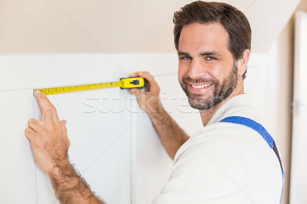 мастер на все руки гардероб дома человека Сток-фото © wavebreak_media