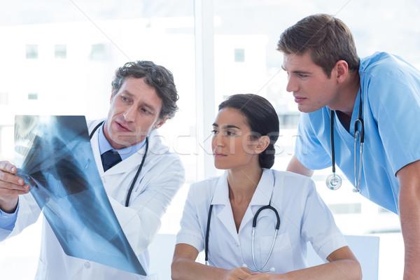 команда врачи Xray медицинской служба женщину Сток-фото © wavebreak_media