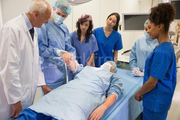 медицинской студентов обучения профессор университета человека Сток-фото © wavebreak_media