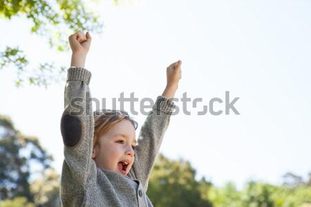 Cute piccolo ragazzo parco Foto d'archivio © wavebreak_media