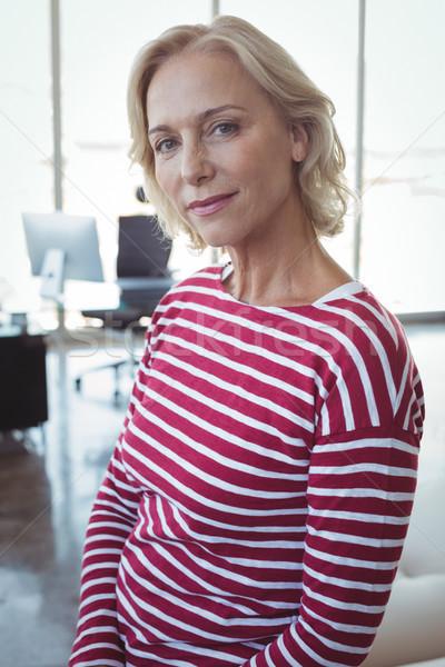 Portrait of mature entrepreneur Stock photo © wavebreak_media