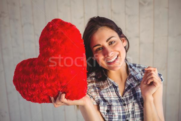 Dość serca poduszkę Zdjęcia stock © wavebreak_media