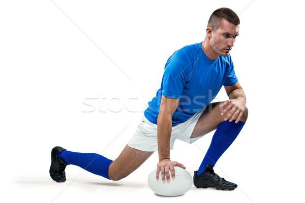регби игрок мяча белый Сток-фото © wavebreak_media