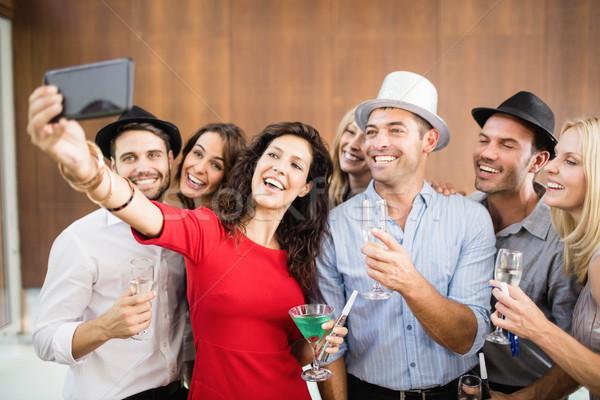 Group of friends taking selfie Stock photo © wavebreak_media