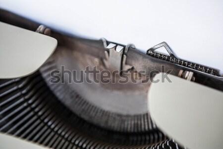 Vecchio stile tipo scrittore pagina Foto d'archivio © wavebreak_media