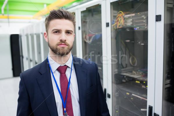 Technician standing in a server room Stock photo © wavebreak_media